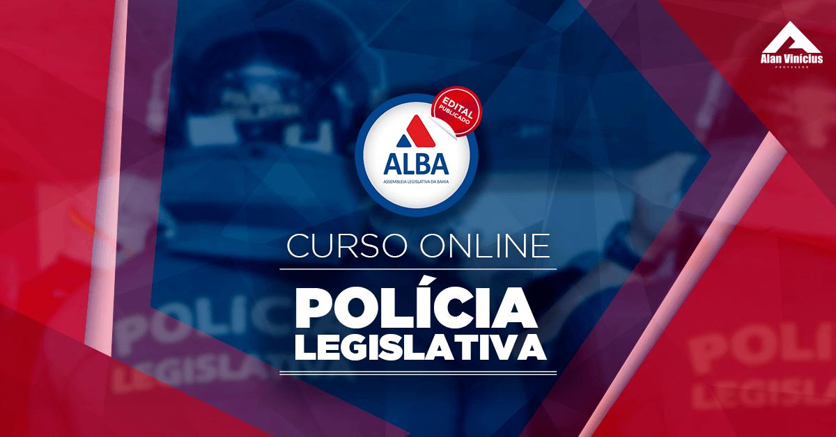 ALBA - Polícia Legislativa