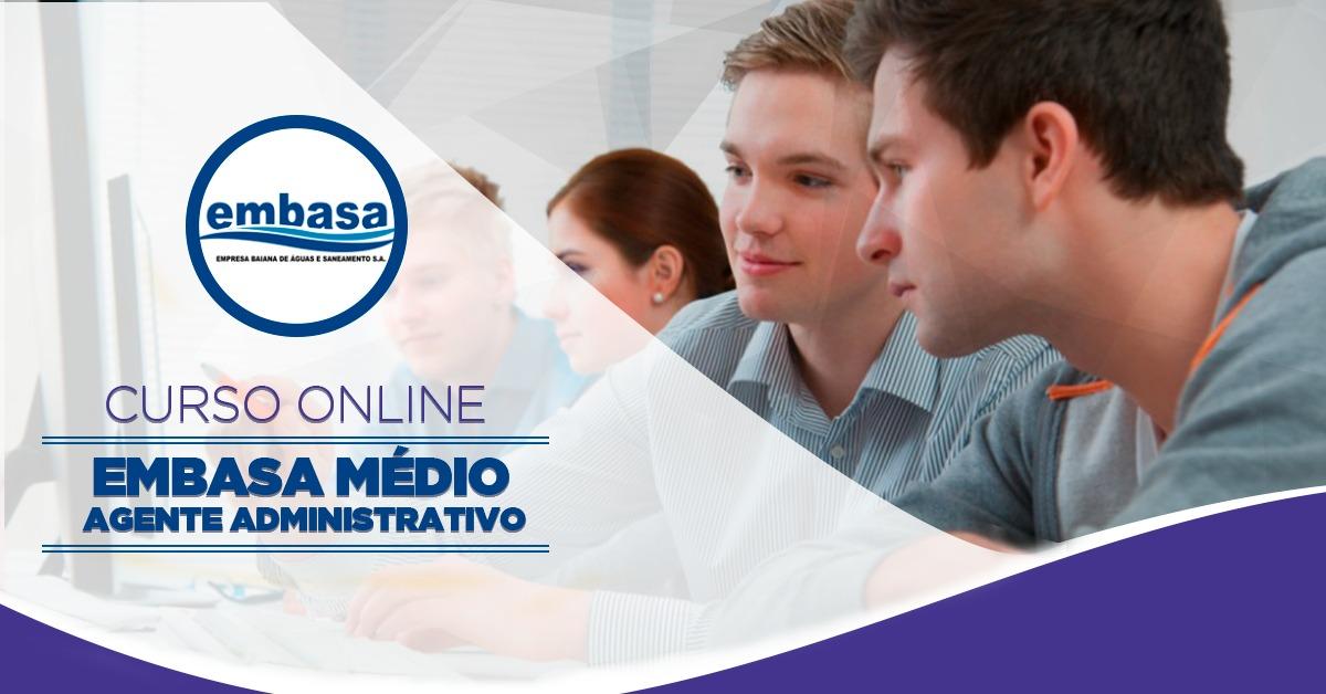 EMBASA - Nível  Médio - Agente Administrativo