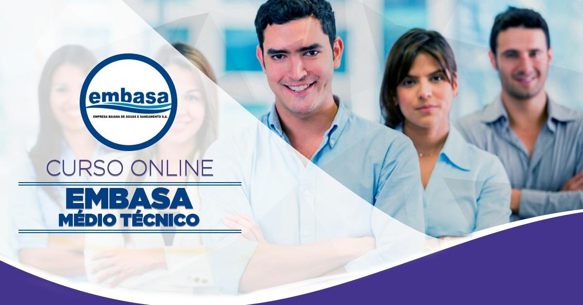EMBASA - Nível Médio Técnico - Conhecimentos Básicos
