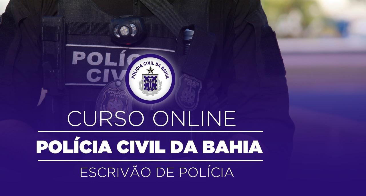 Polícia Civil da Bahia - Escrivão de Polícia