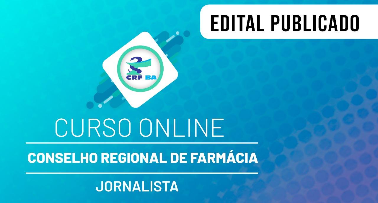CRF - Conselho Regional de Farmácia - Nível Superior - Jornalista