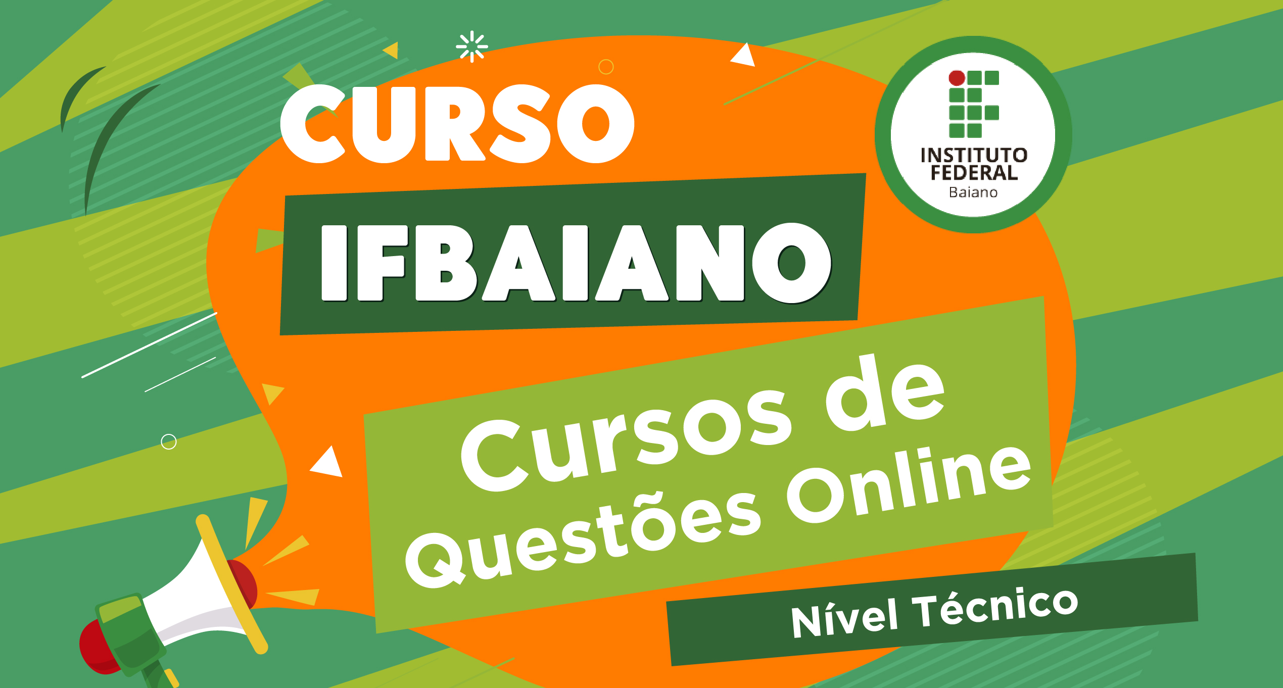Curso de Questões - IFBAIANO - Técnico - Diversas Áreas