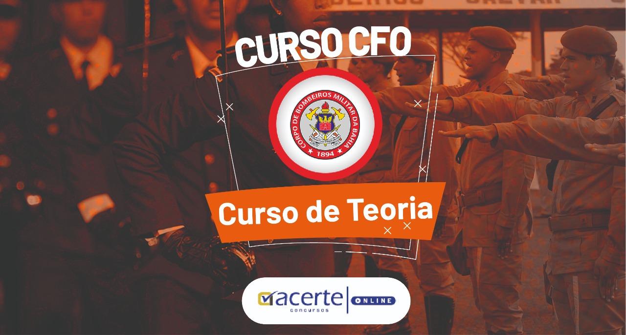 Curso - CFO - Curso de Formação de Oficiais - CBMBA