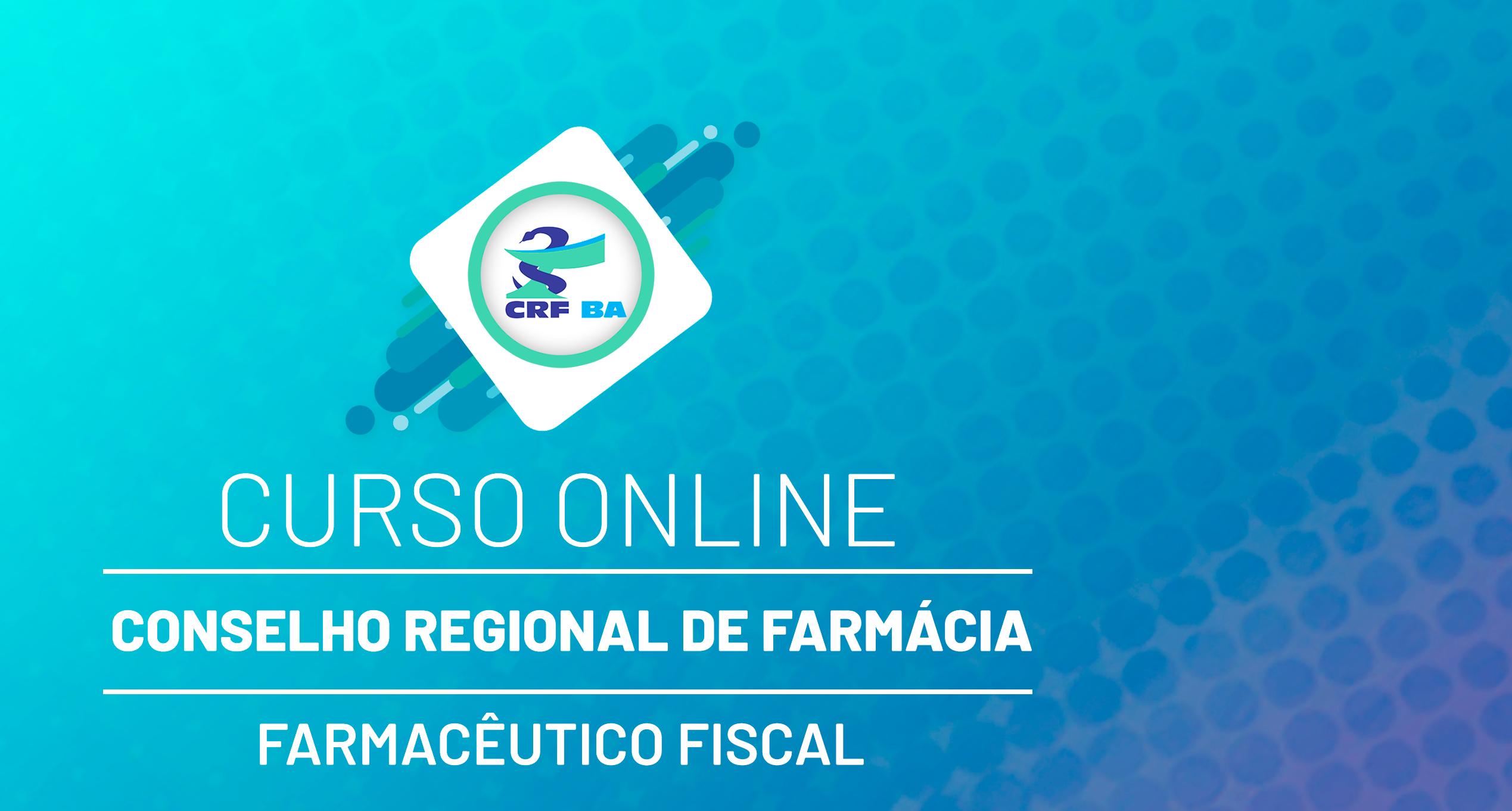CRF - Conselho Regional de Farmácia - Nível Superior - Farmacêutico Fiscal