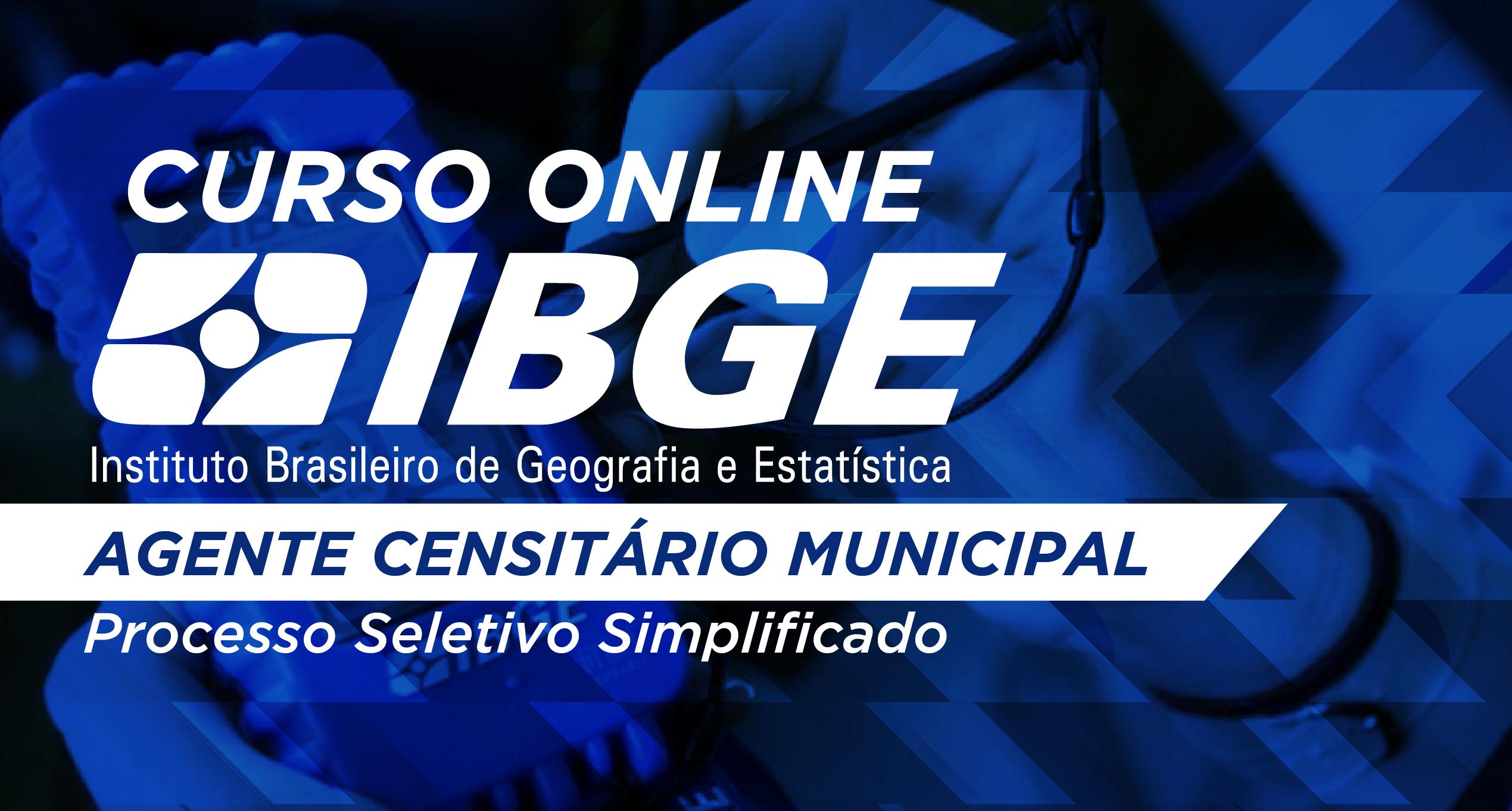 IBGE - Agente Censitário Municipal