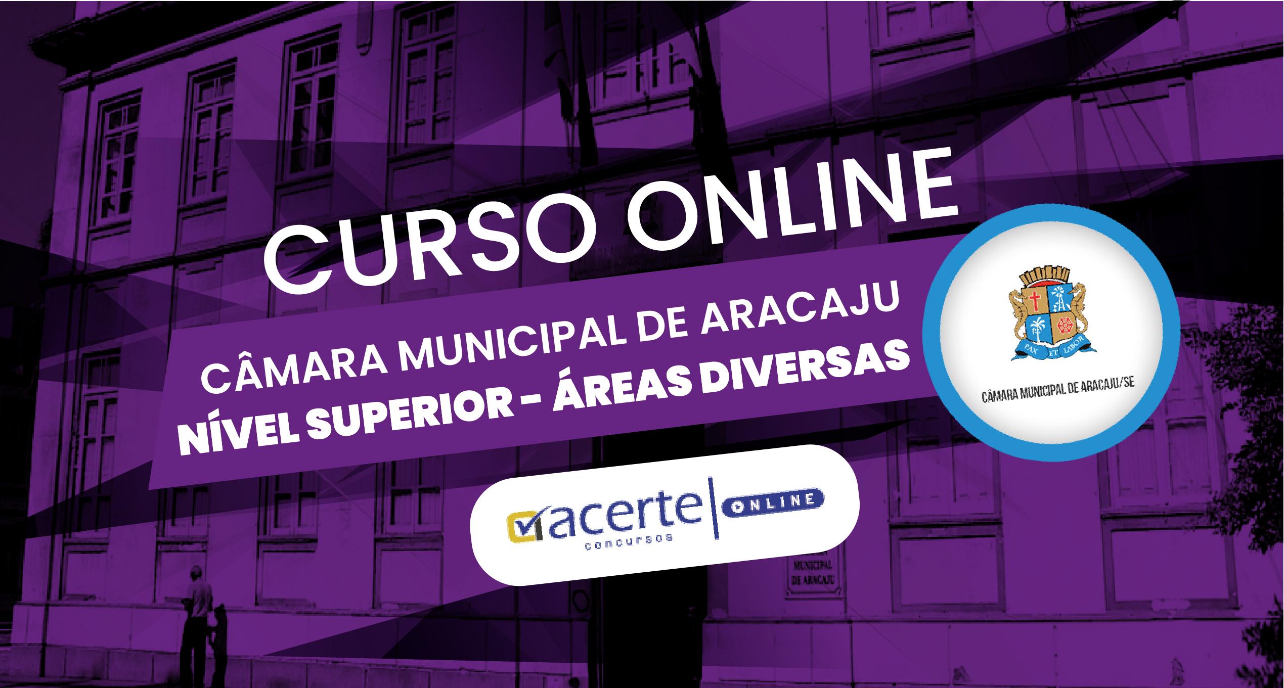 Câmara Municipal de Aracaju - Superior - Áreas Diversas