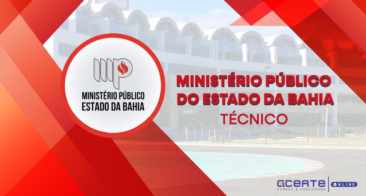 Ministério Público do Estado da Bahia - MPE-BA - Assistente Técnico - Administrativo