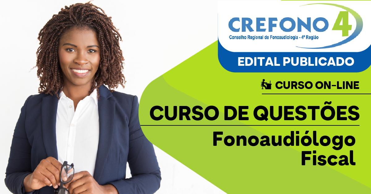 Questões - CREFONO 4 - Conselho Regional de Fonoaudiologia da 4ª Região - Fonoaudiólogo Fiscal - Conhecimentos Básicos e Complementares