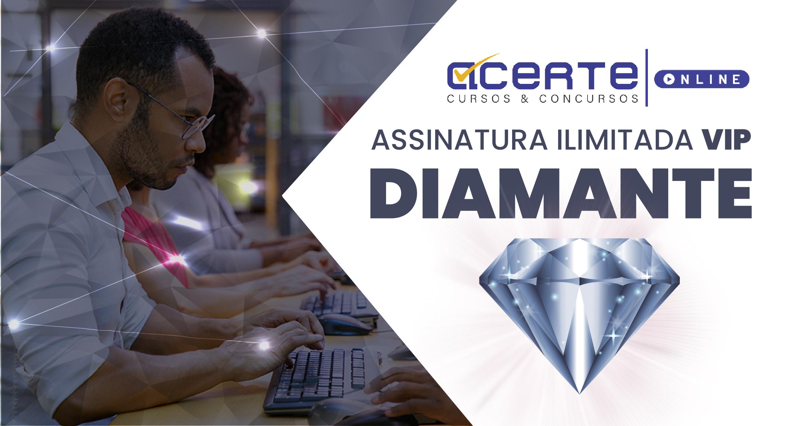 Assinatura Ilimitada - VIP Diamante - Anual