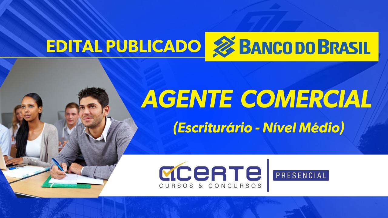 BB - Agente Comercial - Presencial - Noturno